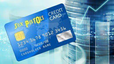 A Sex Pistols Credit Card