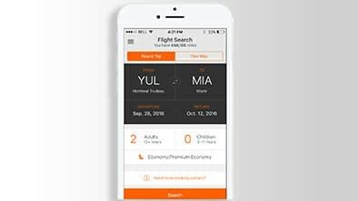 Aeroplan Launches New Mobile Booking App For Members