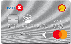 BMO Shell Air Miles World Mastercard