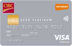 Best aeroplan credit cards canada 2018 greedyrates cibc aero platinum visa card reheart Choice Image