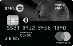 BMO Rewards World Elite Mastercard_243x153