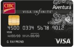 Best cibc credit cards canada 2018 greedyrates cibc visa aventura infinite reheart Choice Image