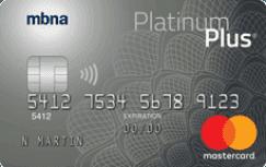 MBNAPlatinum Plus® MasterCard®