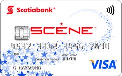 Scotiabank's SCENE Visa card