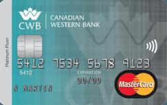 Canadian Western Bank Platinum Plus MBNA MasterCard