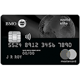 Carte MasterCardMD_ BMOMD World EliteMC