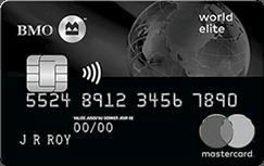 Carte MasterCardMD_ BMOMD World EliteMC