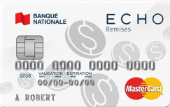 La carte ECHO remises MasterCard