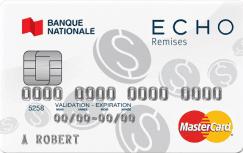 La carte ECHO remises MasterCard