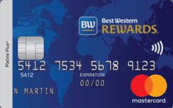 La carte de crédit MasterCard Best Western Rewards