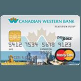 MasterCardMD Platine Plus MBNA de Canadian Western Bank