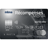 Récompenses MBNA World Elite