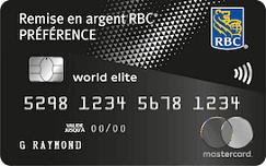 RBC remise en argent preference 243