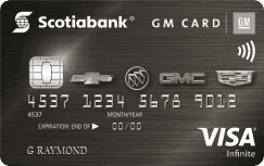 Scotiabank®-GM® VISA Infinite Card