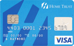 Home Trust Secured Visa Low-Rate credit card