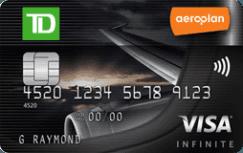 Carte Visa Infinite TD Aéroplan