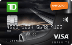 TD® Aeroplan® Visa Infinite* Card Review | GreedyRates ca