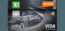 td rewards travel aeroplan platinum visa