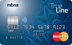 TrueLine MasterCard® credit card