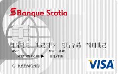 carte Visa minima ScotiaMD sans frais annuels