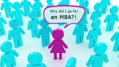 Women in an MBA program