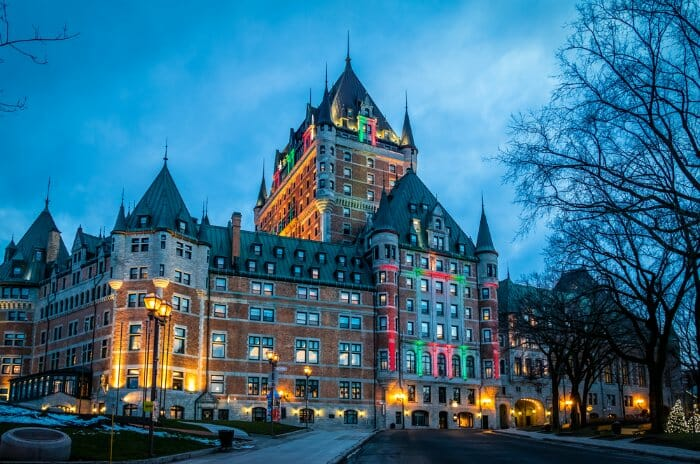 Frontenac Castle Quebec City