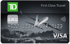 TD First Class Travel Visa Infinite* Card