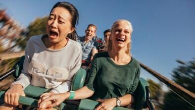 Canadian stock market roller coaster
