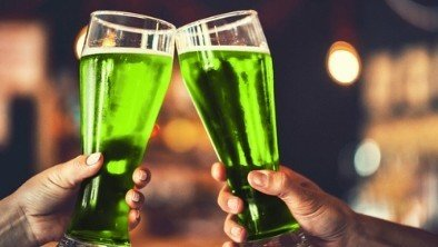 Green beer Saint Patrick's Day