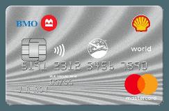BMO Shell Air Miles World Mastercard