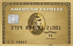 Carte American Express Or avec Primes