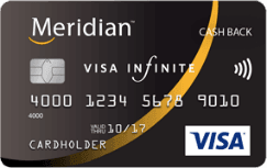 Meridian Cash Back Infinite Carte Visa