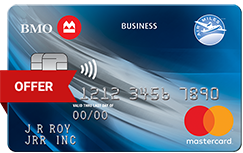 BMO Air Miles No Fee Business Mastercard