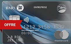 Carte Mastercard BMO AIR MILES d'entreprise