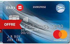 Carte Mastercard<sup>MD</sup>* BMO<sup>MD</sup> AIR MILES<sup>md†</sup> d'entreprise (sans frais)