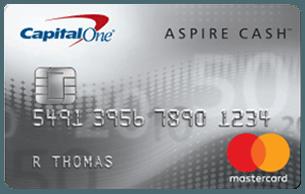 Capital One Aspire Cash™ Platinum Mastercard®