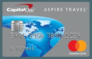 Capital One Aspire Travel™ Platinum Mastercard®