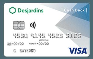 Desjardins Cash Back Visa/Mastercard