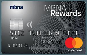 MBNA Rewards Platinum Plus® Mastercard®