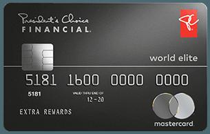 PC Financial® World Elite Mastercard®