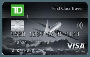 TD® First Class Travel® Visa Infinite* Card