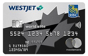 RBC WestJet World Elite Mastercard