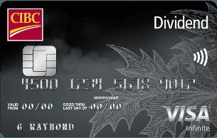 CIBC Dividend® Visa Infinite* Card