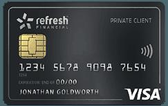 Refresh Financial Secured Card
