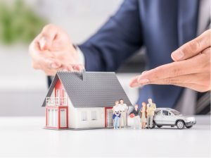 Mortgage life insurance pays off your debt in full in the event of death or an accident