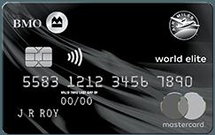 BMO AIR MILES®† World Elite®* MasterCard®*